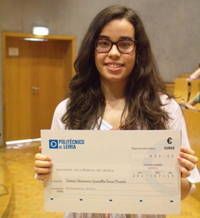 Vencedora do Primeiro Prémio Leonor Duarte