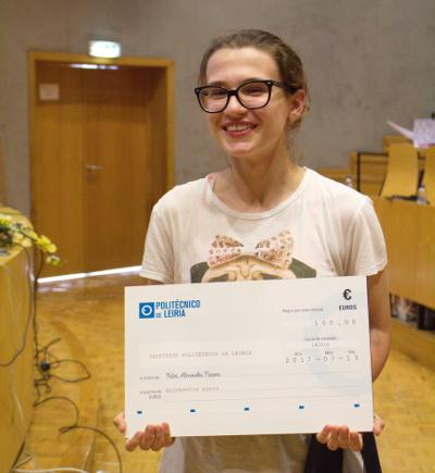 Vencedora do Segundo prémio Rita Almeida Neves